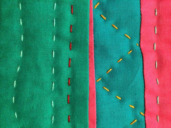 50 best Quilting: Hand quilting stitches images on Pinterest ... : stitching a quilt - Adamdwight.com