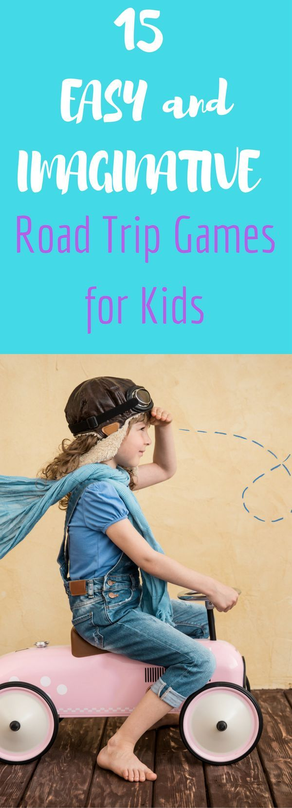 If you're going on a road trip with your kid(s), then you'll want to use these tips for some fun and easy games the whole family can play!