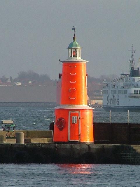 Helsingor Sydmole lighthouse