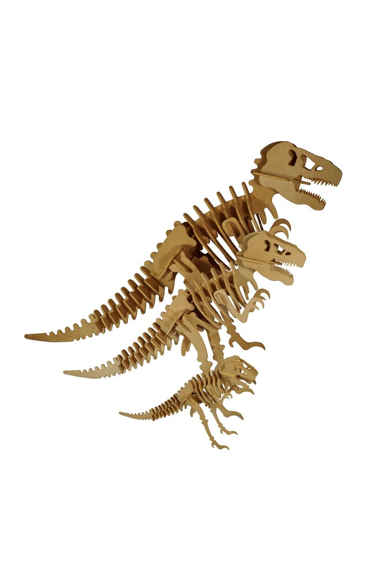 Small, Medium, and Large T-Rex puzzle.