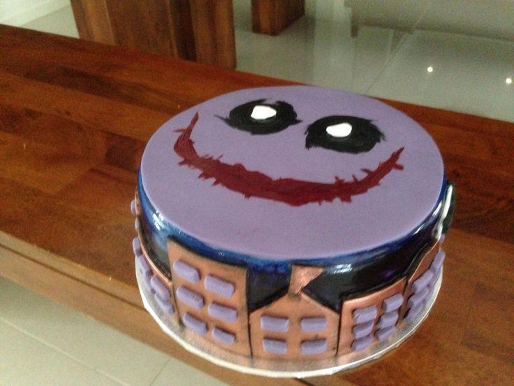Dark night theme cake