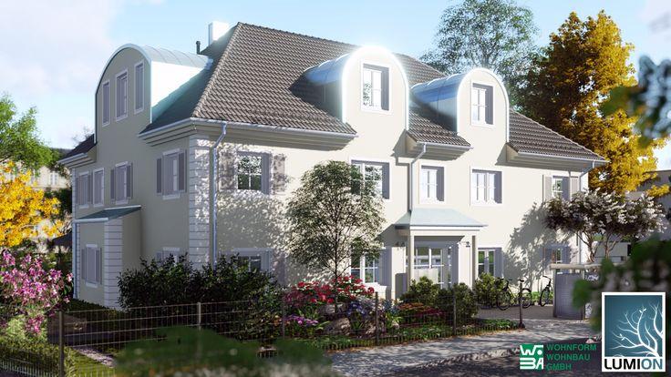 Zur Verfügung gestellt hat uns die Planung dieses Mehrfamilienhauses in München: Wohnform Wohnbau GmbH Untere Bahnhofstraße 58 82110 Germering