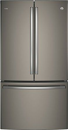"""GE Profile PWE23KMKES 36"""" Energy Star Counter Depth French Door Refrigerator with 23.1 cu. ft. Capacity,, 2016 Amazon Top Rated Refrigerators  #Appliances"""