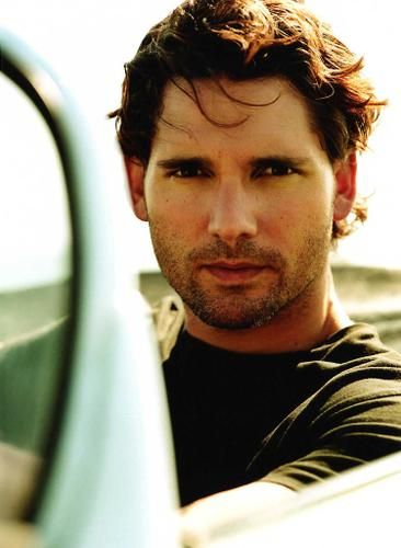 Eric Bana. Look at that serious face...and unshaven look which as you can see is something I truly enjoy in men lol