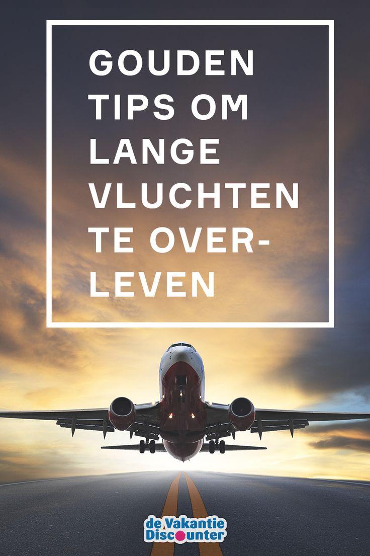 Lange vluchten; ze vragen flink wat van je lichaam. Met deze tips worden ze een stuk aangenamer!