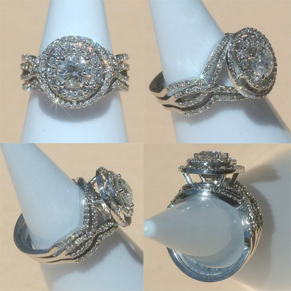 Never seen a ring more beautiful. OMG, if Vernon could read my mind this would be the ring LOL