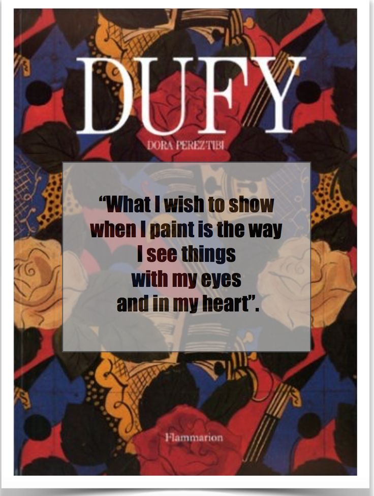 Raoul Dufy 1989 by Dora Perez-Tibi