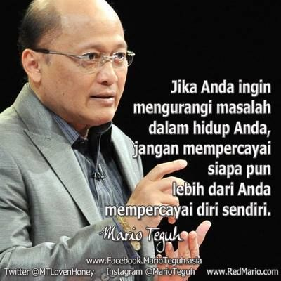 cr : mario teguh facebook