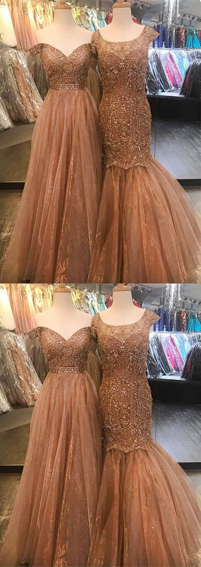 luxurious mermaid prom/evening/party dress #prom #promdresses #promdress #longpromdress #prom2018