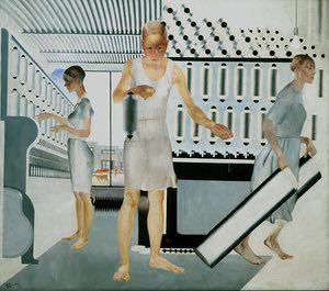 Textile Workers, 1927, Alexander Deineka.