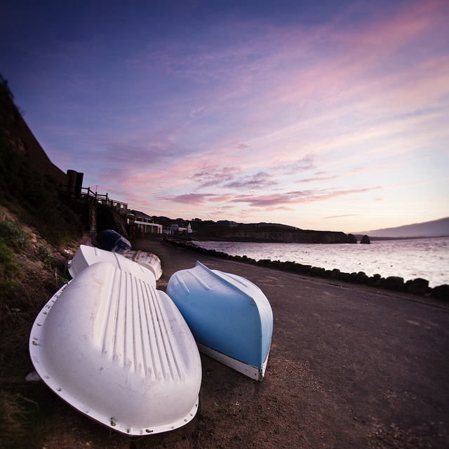 Freshwater Bay Sunrise by Visit Isle of Wight, via Flickr