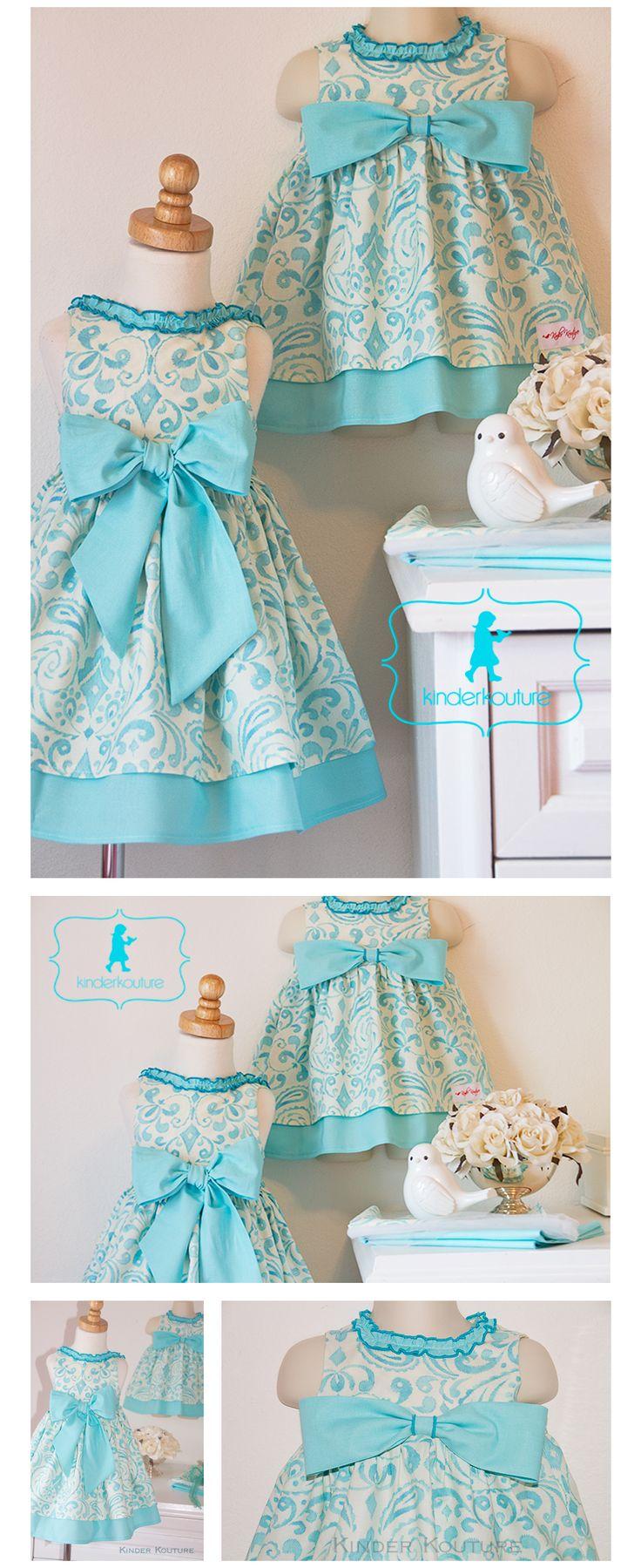Kinder Kouture dresses.