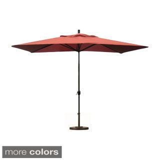 Shop for Premium 10-foot Rectangular Patio Umbrella with Stand. Get free delivery at Overstock.com - Your Online Garden