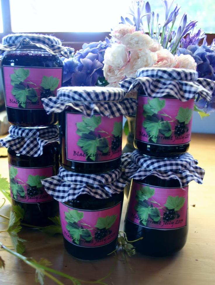 Blackcurrant jelly!