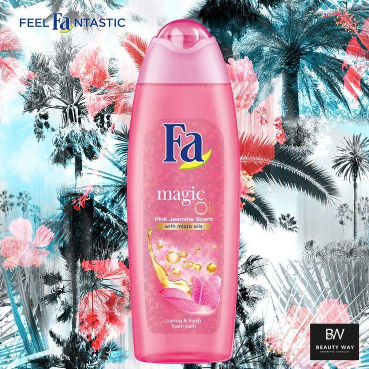 Κάντε το καλοκαίρι να διαρκέσει περισσότερο με το αναζωογονητικό άρωμα Ροζ Γιασεμιού του Fa Magic Oil! #Fa #FeelFantastic #MagicOil #BeautyWay