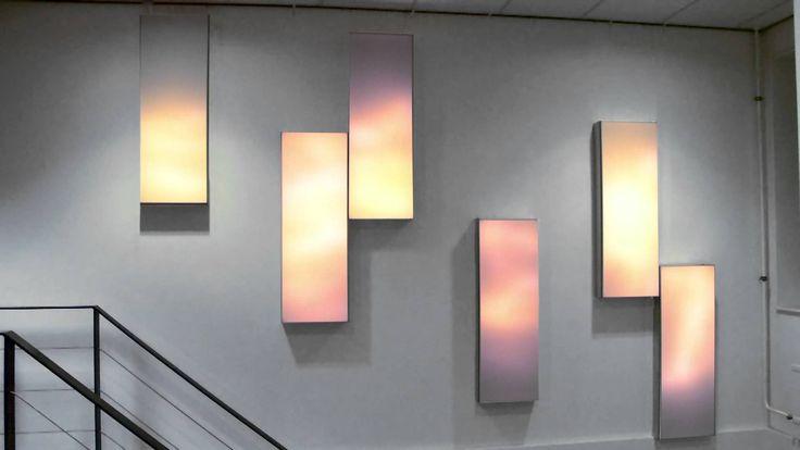 Luminous textile - Staircase