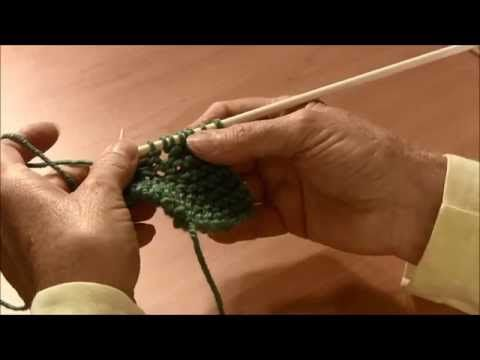 How to Knit - Yarn Over (YO) - YouTube