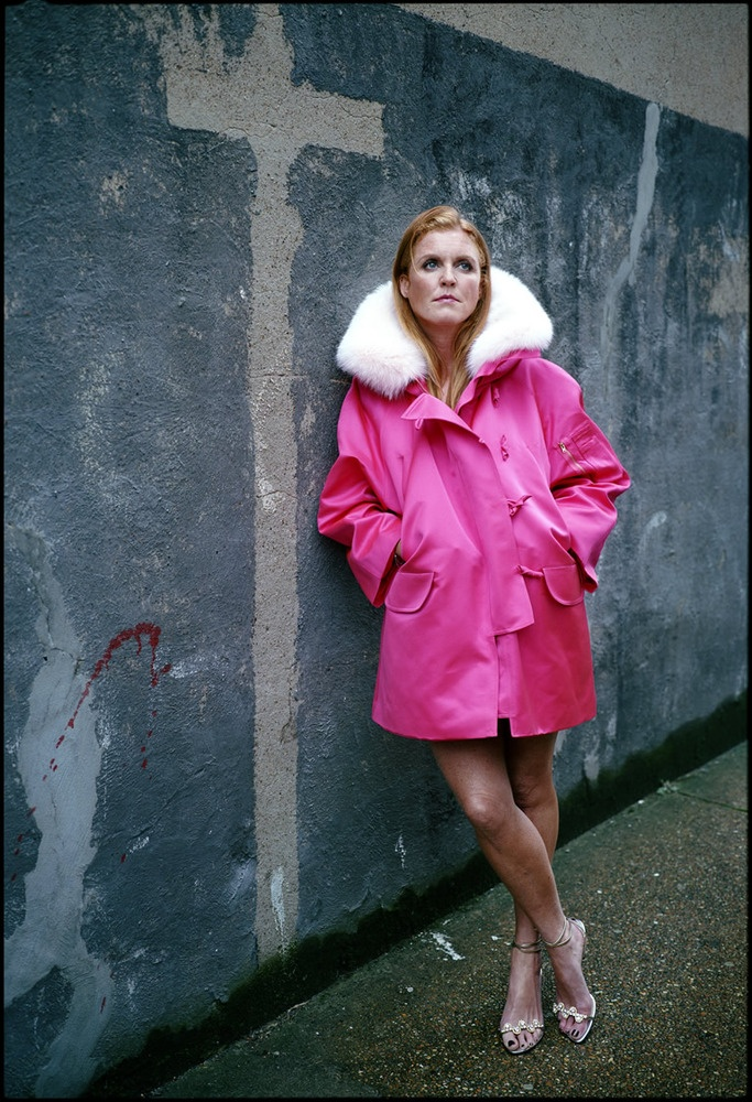 The best photo ever taken – Sarah Ferguson by Harry Borden.