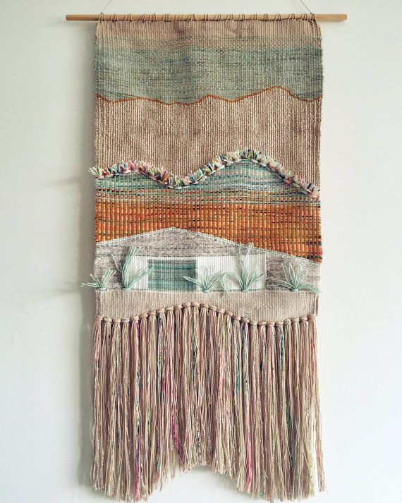 Palm Springs Inspired Wall Hanging  MEDIUM