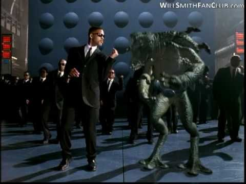 Will Smith - Men in black   Here come the men in black...