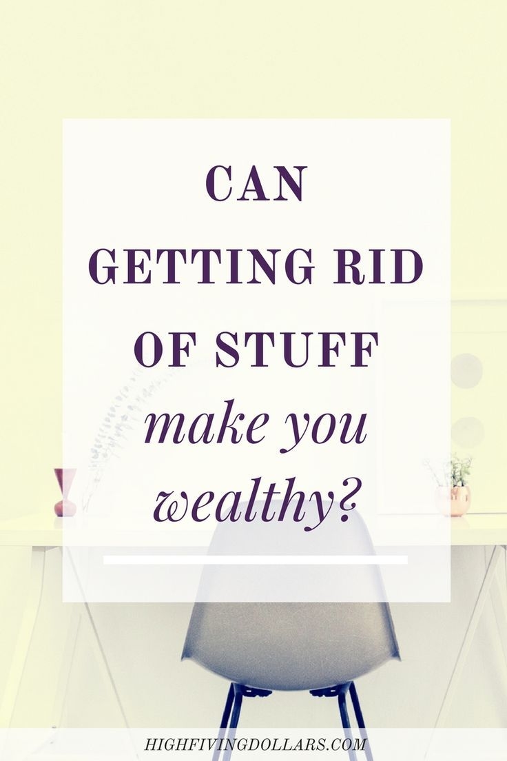 We all know minimalism can help us save money, but is it also a way to make us wealthy? Read on to find out about my experience. via @sarahlicain