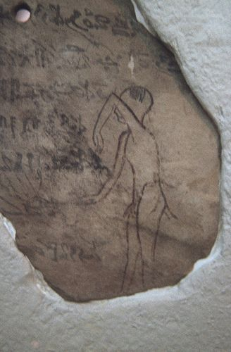 Sehaqeq on Ostracon Leipzig 42, one of the few individual and named demons. 1986_017.jpg by risotto al caviale, via Flickr