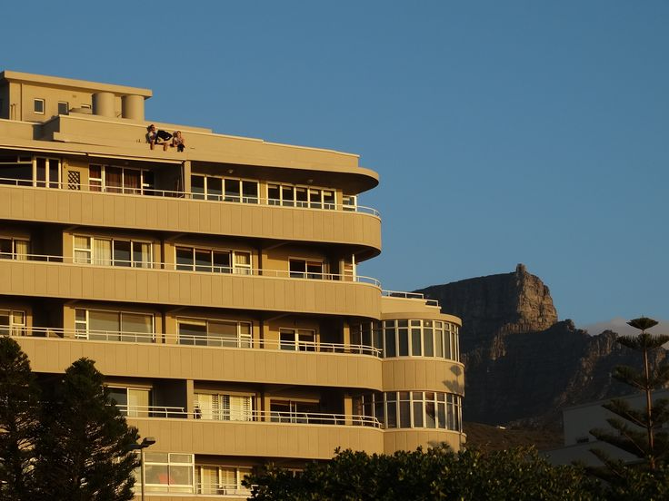 ...beer with a view? #sunset #capetown