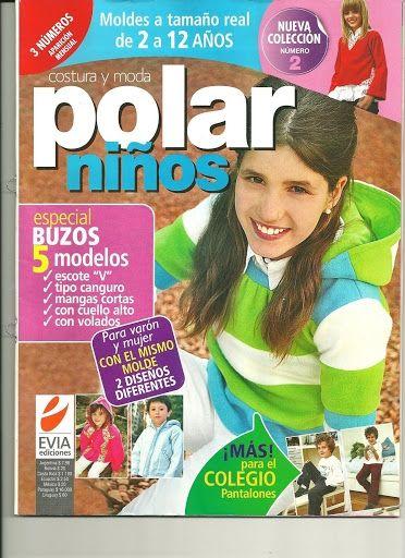 Журнал Polar Ninos №2 2010.Выкройки одежды для детей.