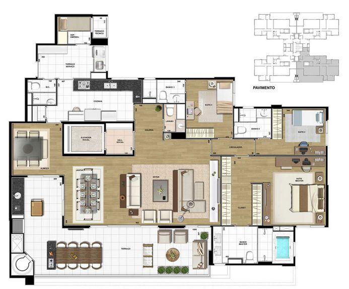 planta-200m2--3-suites-vistta-santanapng (693×574) Home and more