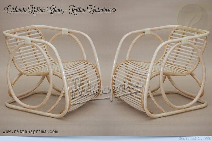 ORLANDO Rattan Chair – Rattan Furniture – Natural Rattan Furniture