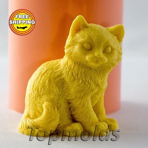 Material: Flexible Silicone Mold Name: Silicone Soap Mold - Cat 6 3D. The weight and size of the finished soap of silicone molds: Weight 60 g Size - 6,5x5,5x4,5 cm.   eBay!
