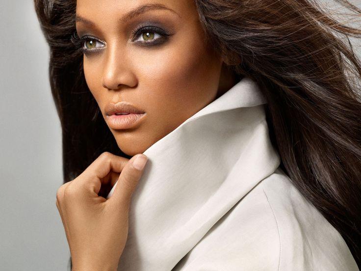 Tyra Banks #model #makeup #beauty