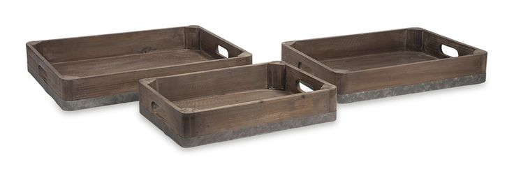Accent Trays : Abella Trays - Set of 3