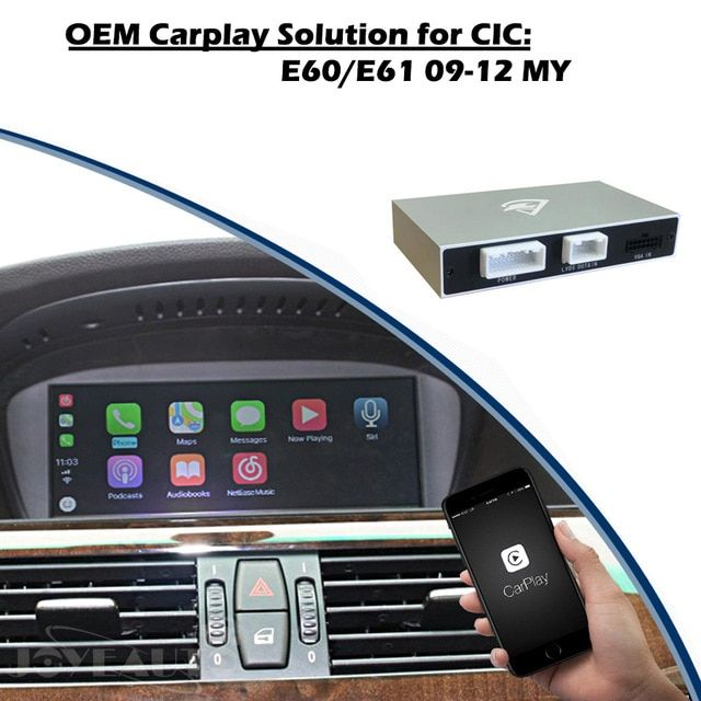 Aftermarket 5 series E60 E61 CIC 2009 2012 OEM Apple Carplay Android