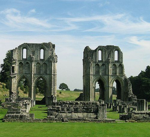 Ruins of Roche Abbey, South Yorkshire.