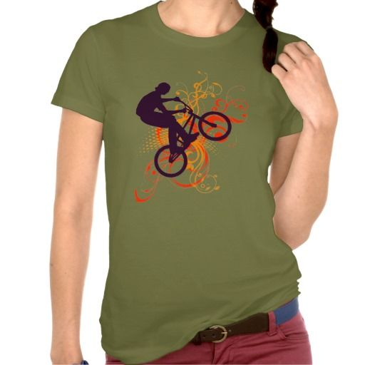 Street bike t-shirt #biking #bmx #zazzle