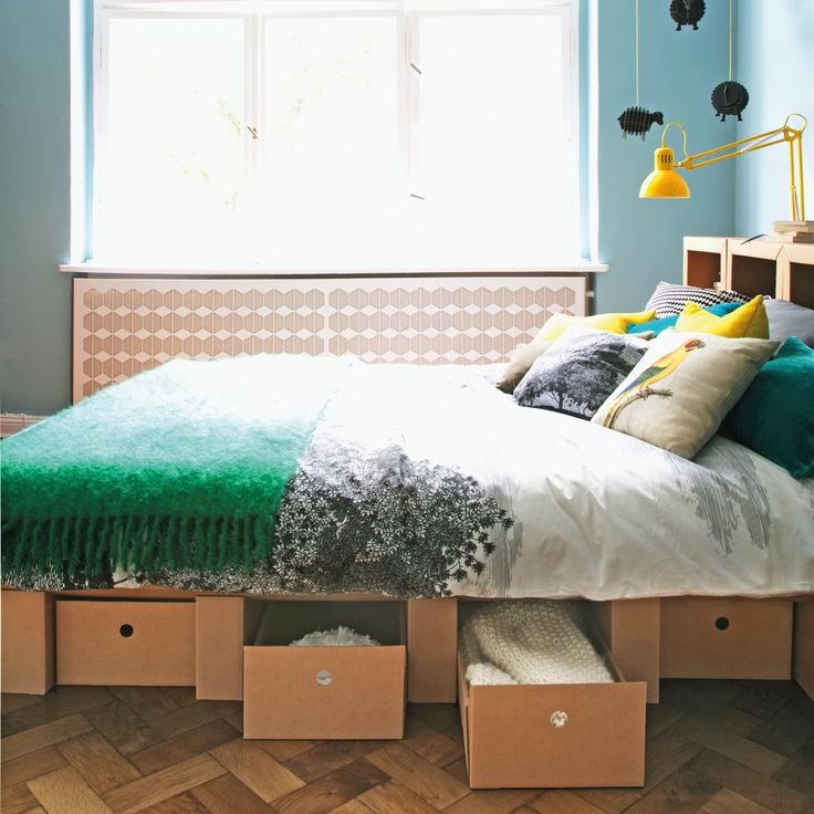 die besten 25 bett aus pappe ideen auf pinterest. Black Bedroom Furniture Sets. Home Design Ideas