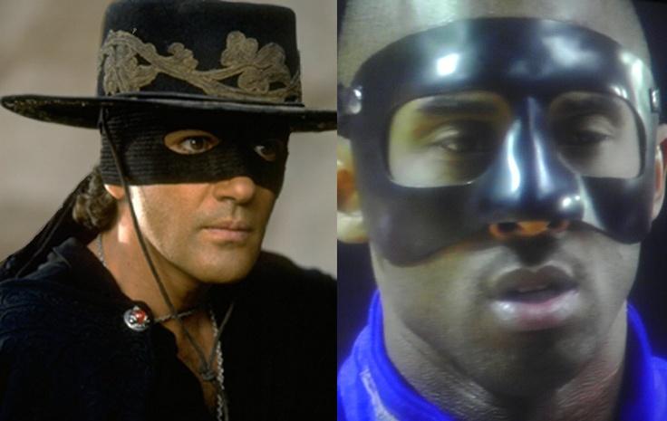 Kobe looks like Zorro