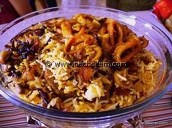 Seafood biriyani - Seafood Biriyani , Kerala Non-Vegetarian Seafood
