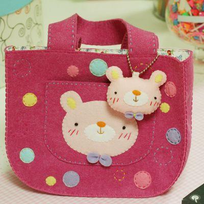 More sweet felt purse.