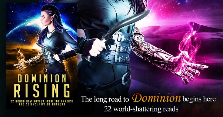 Awesome iPad giveaway to celebrate the launch of Dominion Rising! 22 BRAND NEW NOVELS #Scifi & #Fantasy  Escape from planet Earth.  ONLY 99c-Preorder now! #Amazon #iBooks #Kobo #nook https://wn.nr/X8HMHv