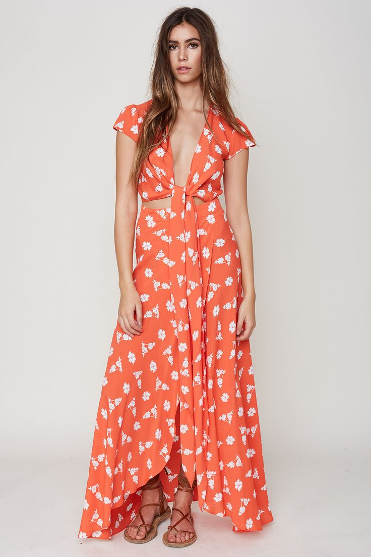 Printed Tea Dress - Sweet treat Flynn Skye l9nfWUc
