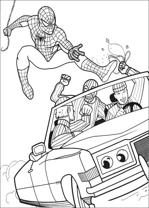 17 Best Images About Coloriages Spiderman On Pinterest