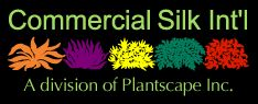 Commercial Silk Intl is a leading manufacturer of artificial trees, #silkplants, #topiaries, palm trees, flowers