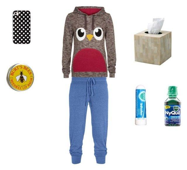 Sick Day by chrissymusicfashion on Polyvore featuring interior, interiors, interior design, casa, home decor, interior decorating, OKA, Splendid and Chapstick