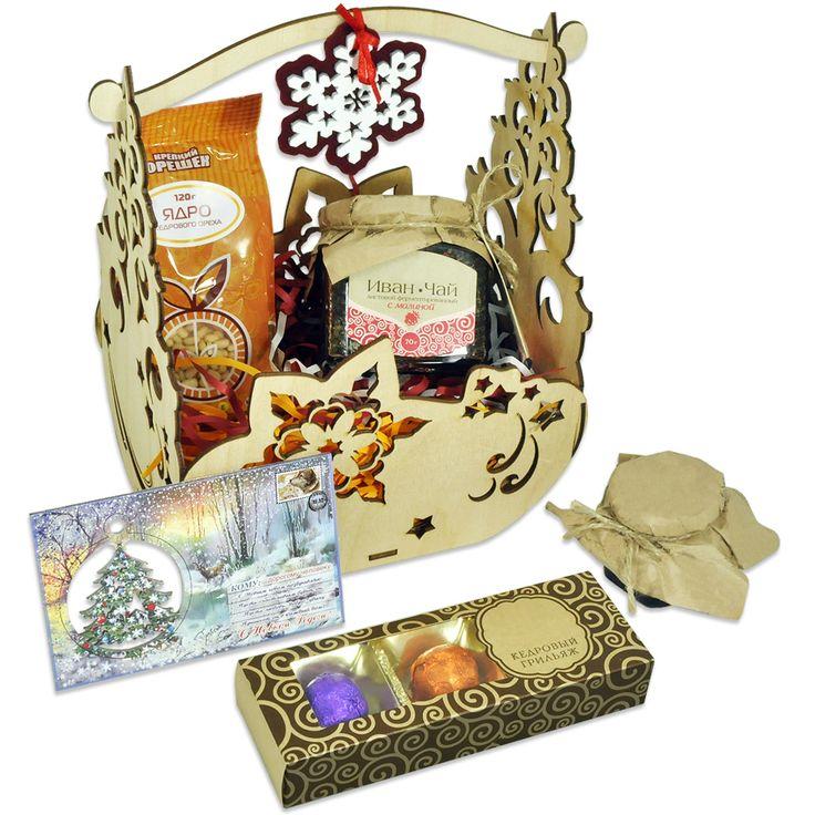 Корзина сладостей для радости – Профессиональные сувениры