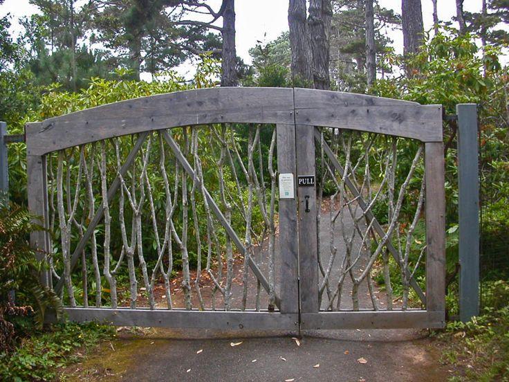 Puerta de madera preciosa!