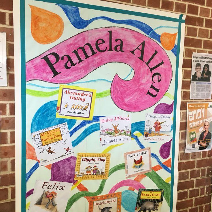 Pamela Allen picture book display