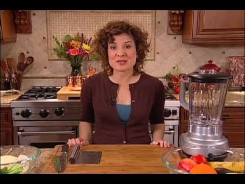 Raw Food Equipment & Ingredients: Blender, Food Processor, Knife and Cutting Board Instruction