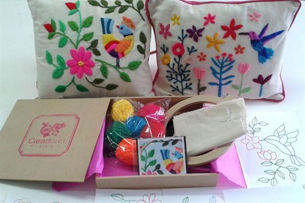 ¡Animate a bordar!  Pack de bordado, de Tienda Caradonti